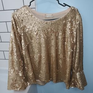 Alter'd State Sequin Top